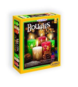 Réf 2351 Bougies NOEL Boite HD